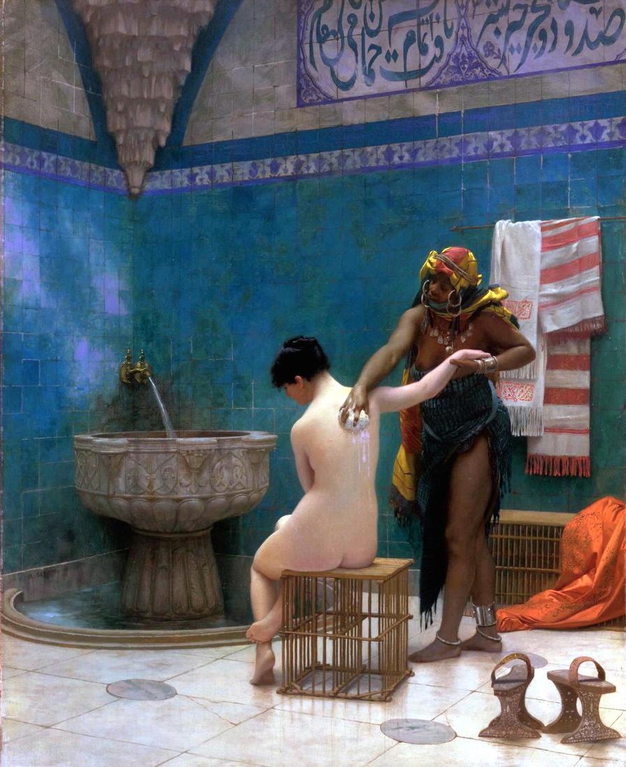 Юнные девочки моются в баньки 16 фотография