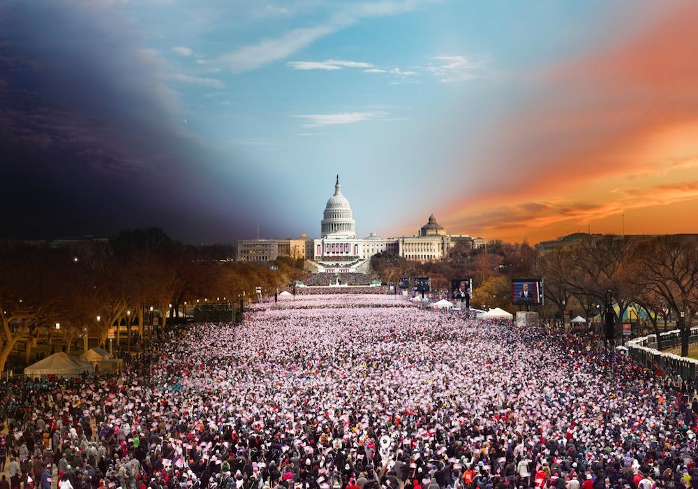 Президентская инаугурация 2013 года, Вашингтон, США.