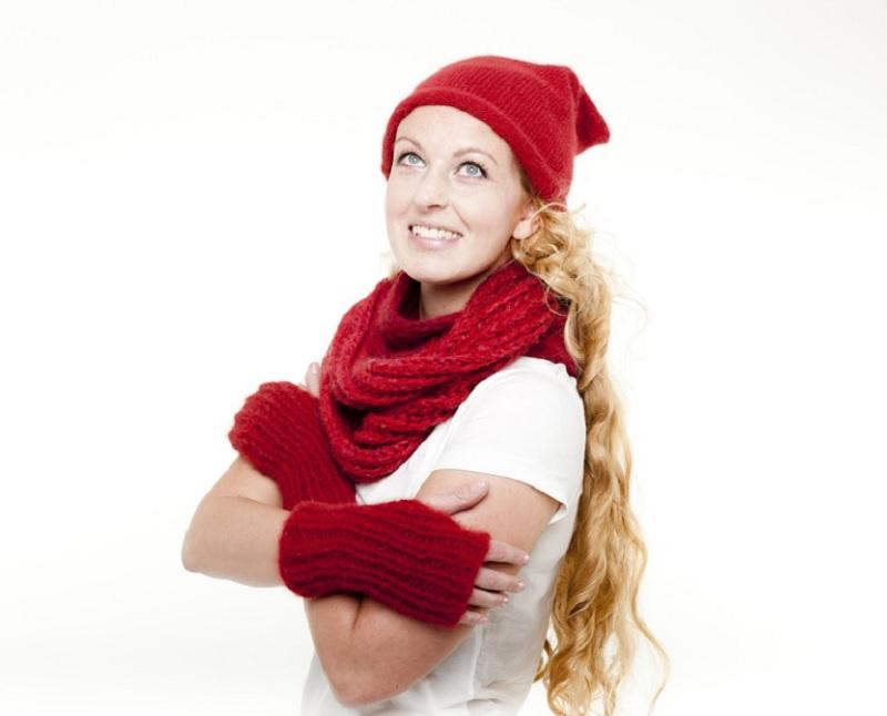 снуд, шарф хомут