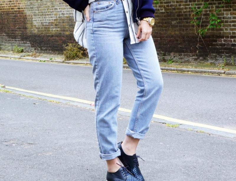 мамины джинсы, джинсы мом